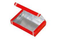 ランタン印中華銀折箱(中面 銀)