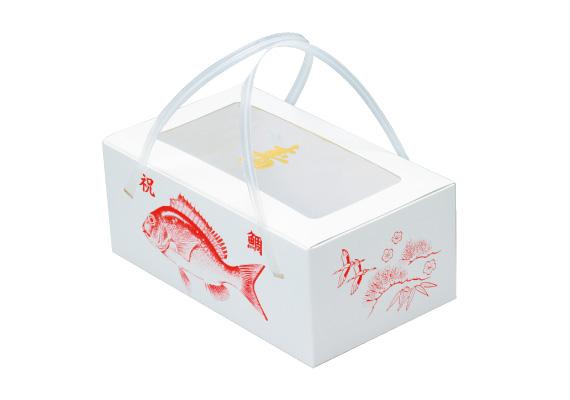 お正月向け商品に既製品紙箱をおすすめした事例